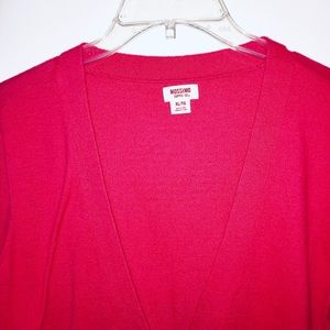 Mossimo Supply Co. Sweaters - Classic Lightweight Red Cardigan